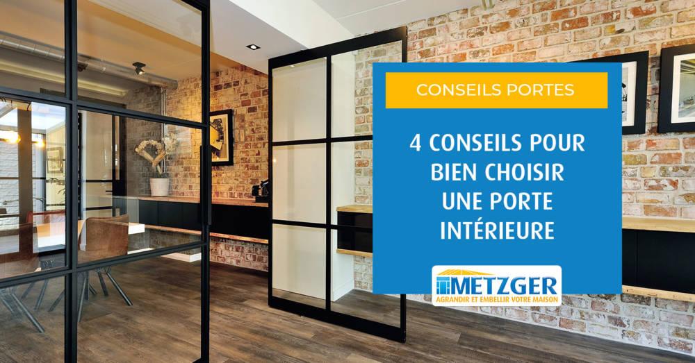 4 conseils pour bien choisir une porte intérieure