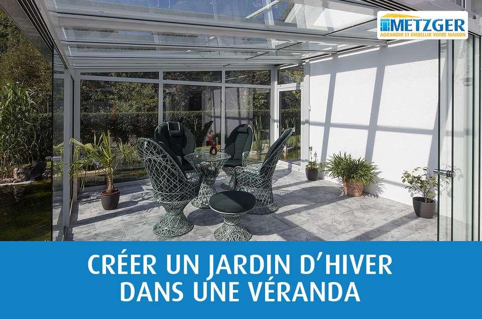 créer un jardin d'hiver dans une véranda