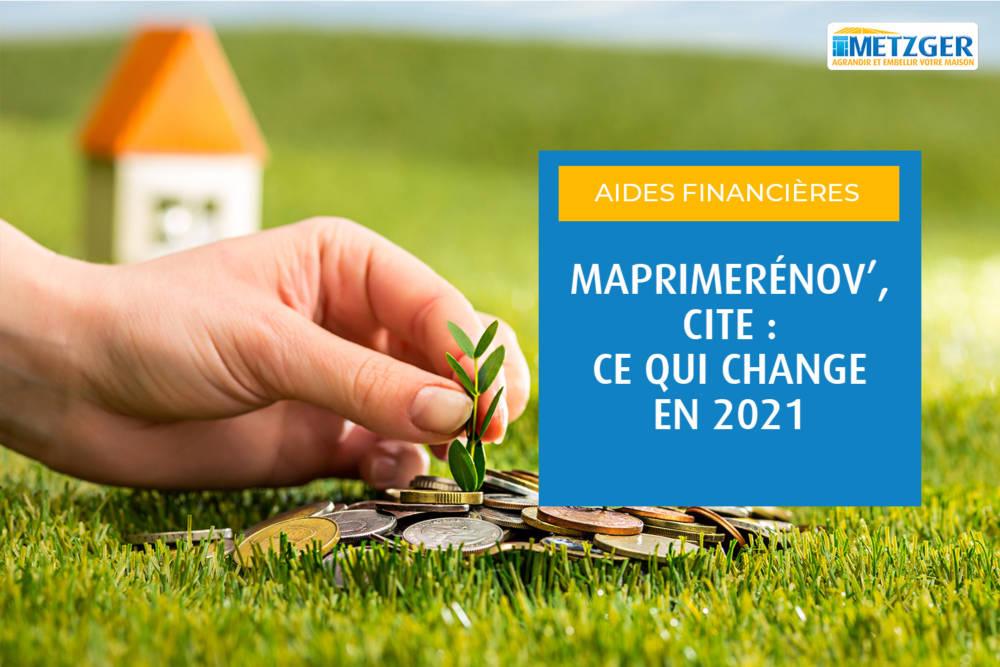 MaPrimeRénov', CITE : ce qui change en 2021