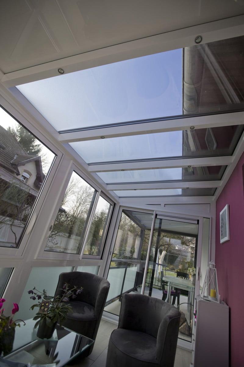Pour ajouter du cachet à sa véranda: le toit en verre
